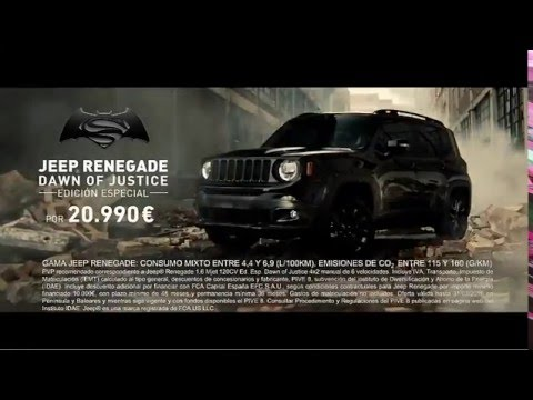 Jeep Renegade Dawn of Justice 2016