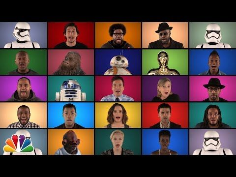 Jimmy Fallon, The Roots y el reparto de Star Wars