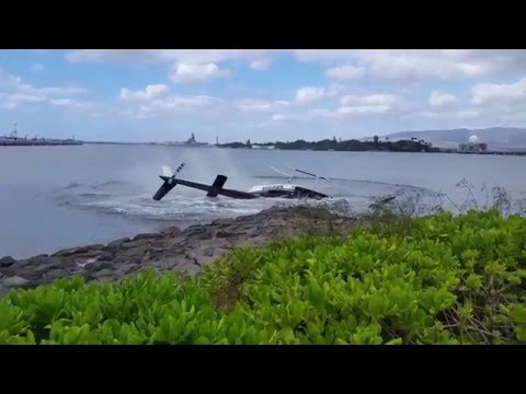 Accidente de Helicóptero 18 Febrero 2016 en Pearl Harbour